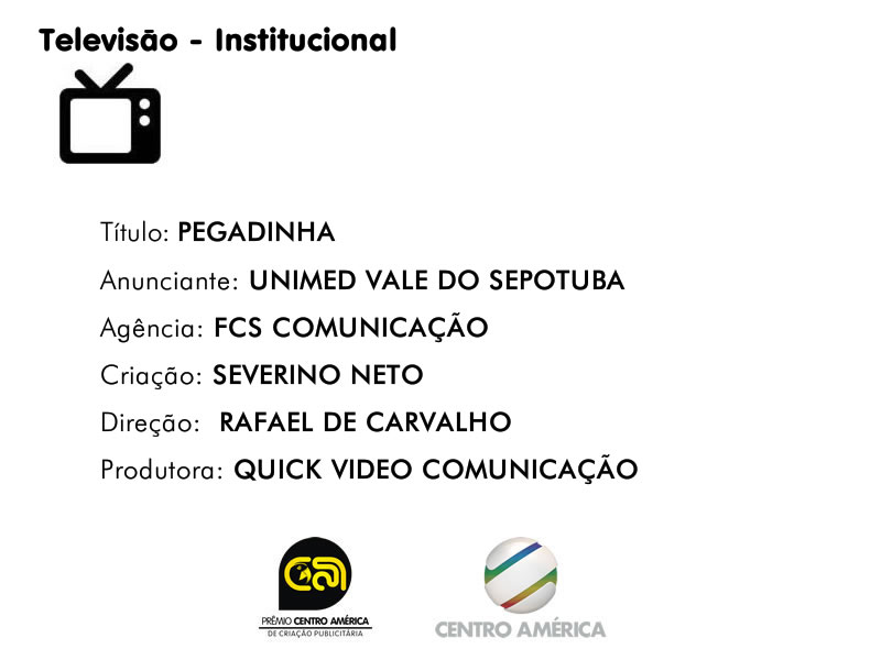 Vencedor da categoria TV Institucional