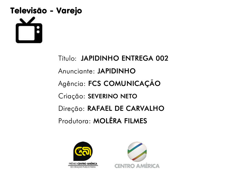 Vencedor da categoria TV Varejo