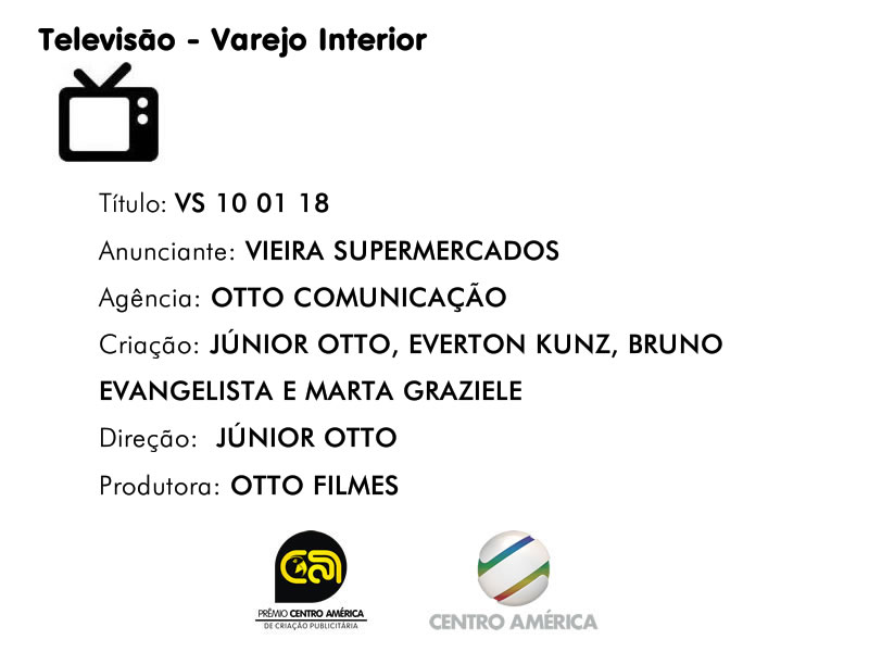 Vencedor da categoria TV Varejo Interior
