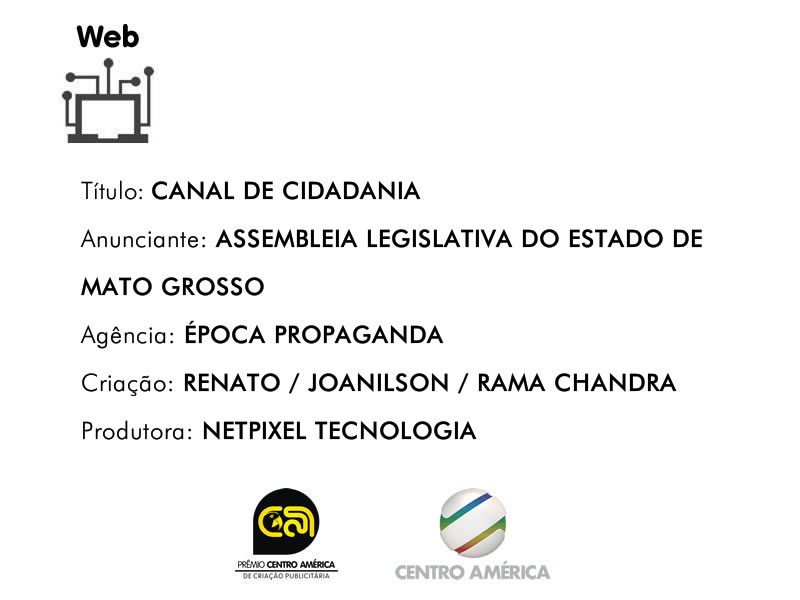 Vencedor da categoria Internet